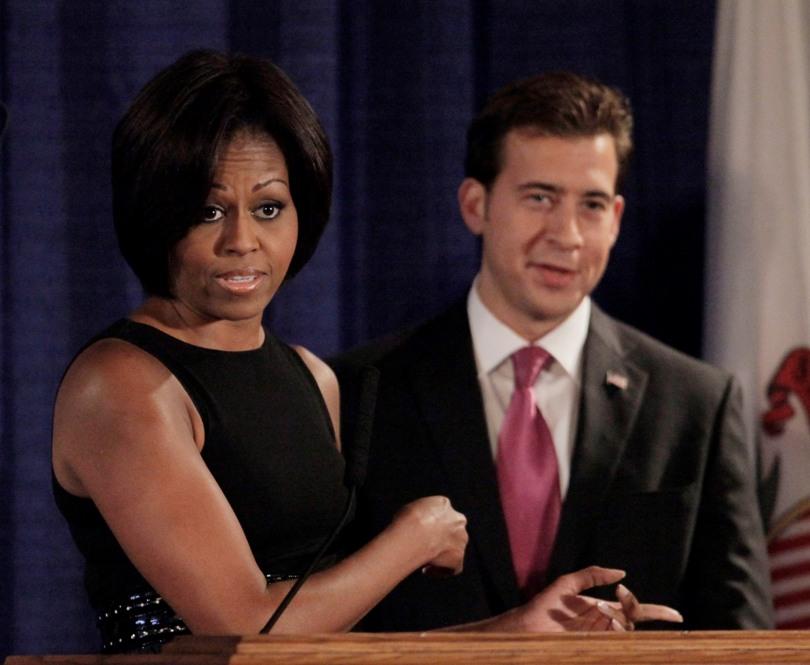 Michelle Obama Giannoulias