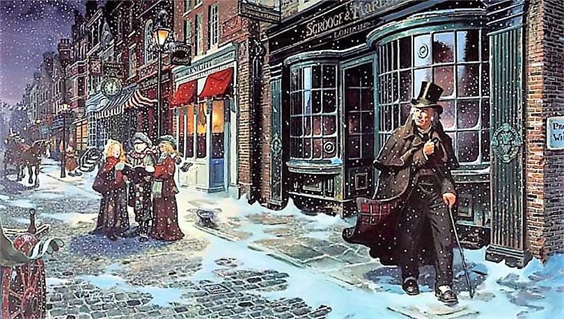 696a011c16 Χριστουγεννιάτικη Ιστορία  η κλασική ιστορία του τσιγκούνη Σκρουτζ ...